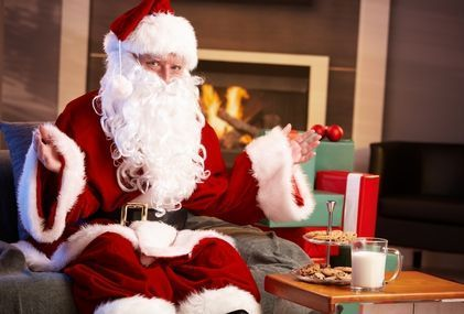 Holiday traditions: Leaving cookies and milk for Santa
