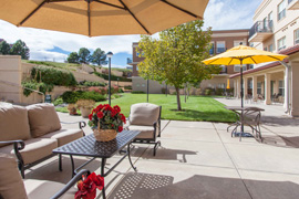 The Inn at Greenwood Village, CO - Courtyard