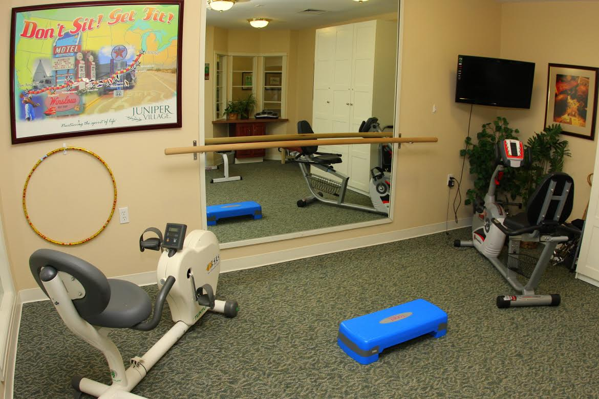 Juniper Village at Louisville - Louisville, CO - Fitness Room
