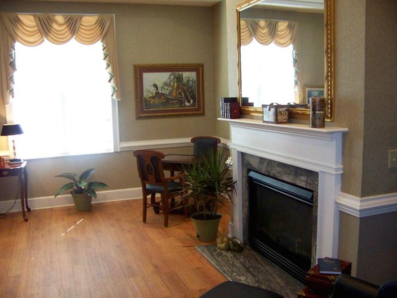 Kerner Ridge Assisted Living - Kernersville, NC - Fireplace