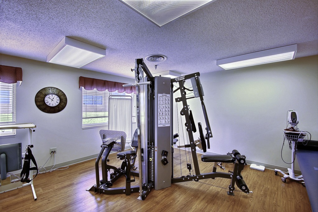 Kindred Transitional Care and Rehabilitaton - Eagle Creek - Indianapolis, IN - Fitness Room
