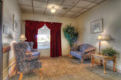 Kindred Nursing and Rehabilitation – Valley View - Elkhart, IN - Family Room