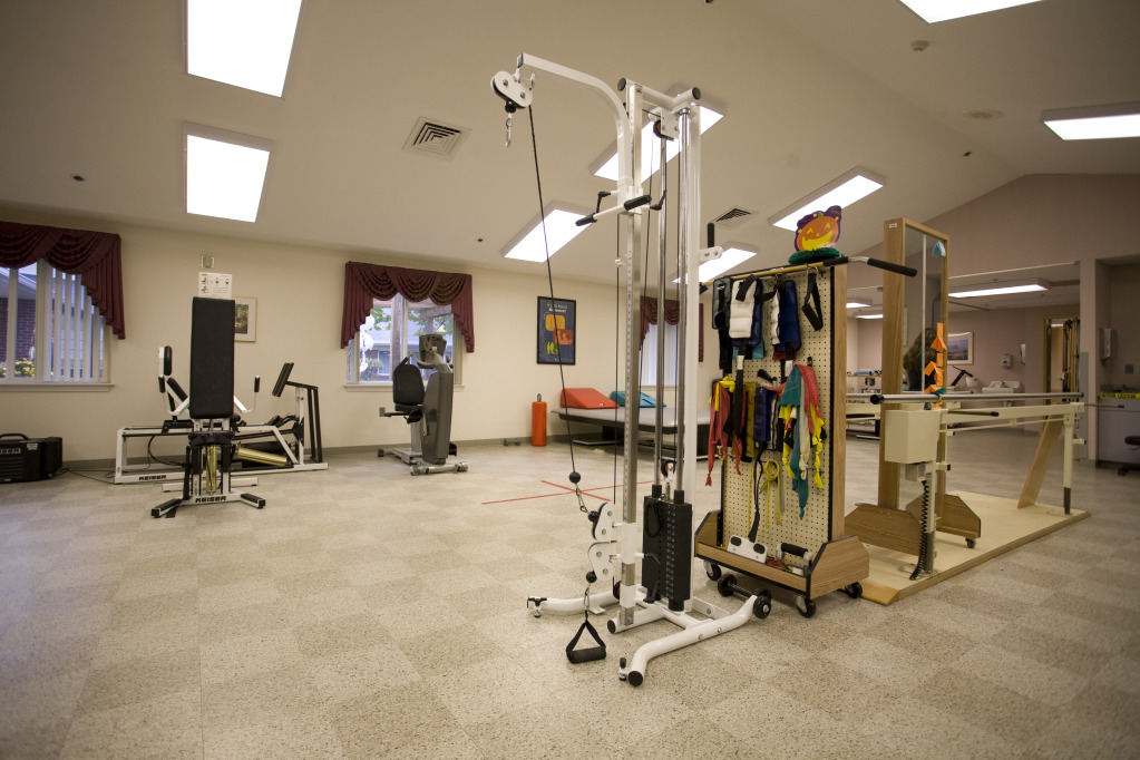 Kindred Transitional Care and Rehabilitation - Harrison - Corydon, IN - Fitness Room