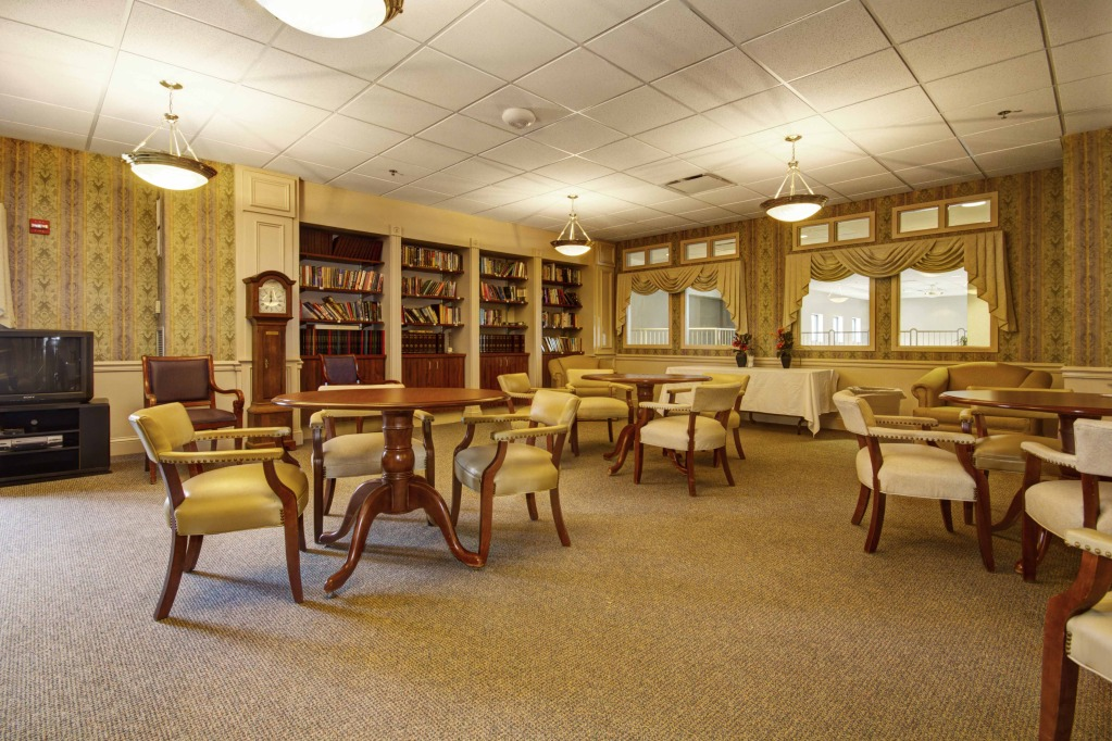 Kindred Transitional Care and Rehabilitation - Stratford - Glenwillow, OH - Library