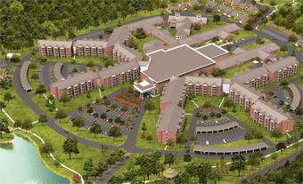 Kirby Pines Retirement Community - Memphis, TN - Exterior