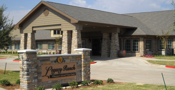 Legacy Ranch Alzheimer's Special Care Center - Midland, TX - Exterior