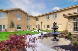 Legend Assisted Living and Memory Care - Fort Worth, TX - Courtyard