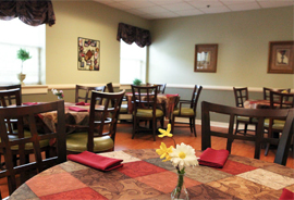 Manorhouse Assisted Living - Knoxville, TN - Dining Room