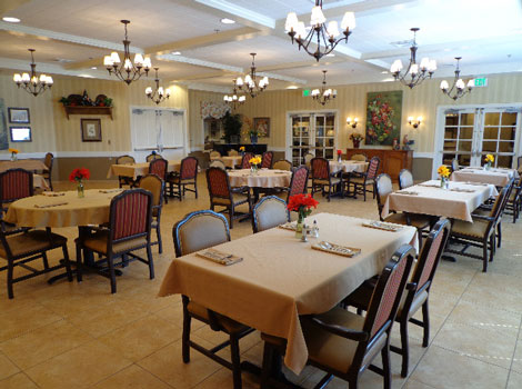 Maple Wood Alzheimer's Special Care Center - Dining Room