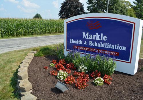 Markle Health and Rehabilitation - Markle, IN - Exterior