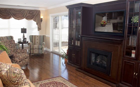 Memory Care Living at Greenbrook, NJ - Living Room