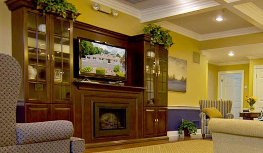 Memory Care Living at Paramus, NJ - Living Room
