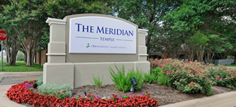The Meridian - Temple, TX - Exterior Sign