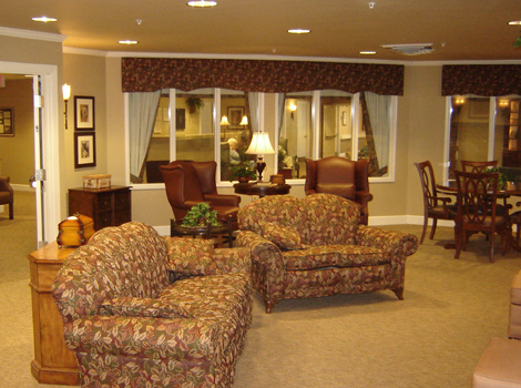 Mill Creek Alzheimer's Special Care Center - Springfield, IL - Community Gathering Area
