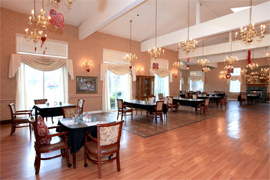 Montclair Royale, CA - Dining Room