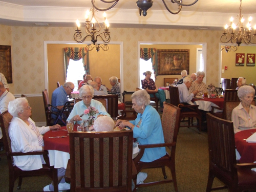 Morning Pointe of Athens, TN - Dining Room