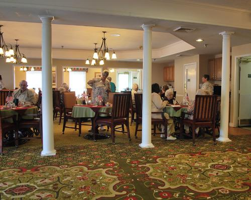 Morning Pointe of Greeneville, TN - Dining Room