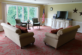 Mount Vernon of Elizabeth, PA - TV Room