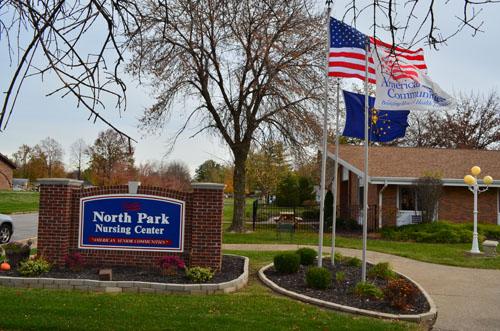 North Park Nursing Center - Evansville, IN - Exterior