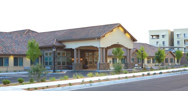 North Ridge Alzheimer's Special Care Center - Albuquerque, NM - Exterior
