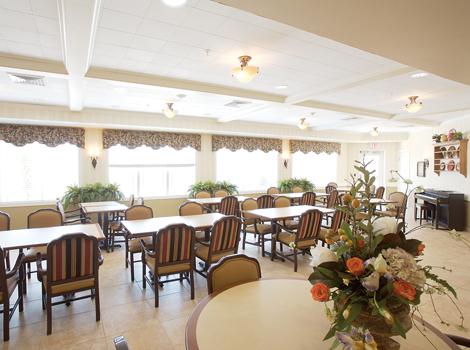 North Ridge Alzheimer's Special Care Center - Albuquerque, NM - Dining Area