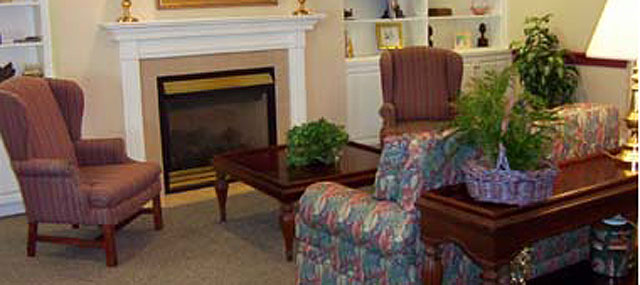 Northwood Manor - Marion, IN - Fireplace Lounge