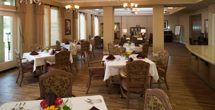 You Can Expect Weekly Oakmont Of Folsom   Folsom, CA   Dining Room