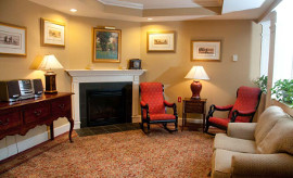 Orchard Valley at Wilbraham, MA - Fireplace Lounge