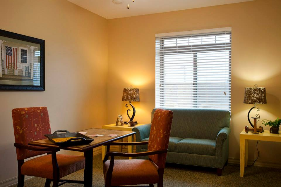Oxford Glen at Grand Prairie, TX - Living Room
