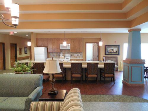 Oxford Glen at Sachse, TX - Community Lounge