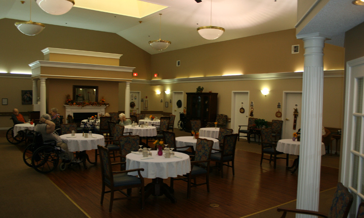 Oxton Place of Rome, GA - Dining Room