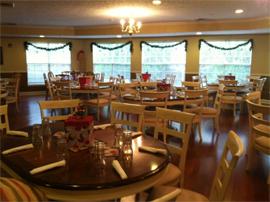 Oxton Court of Savannah, GA - Dining Room