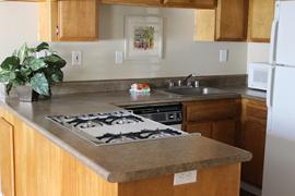 Pacifica Senior Living Sierra Vista - Victorville, CA - Kitchen