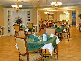 The Phoenix at Dunwoody, GA - Dining Room