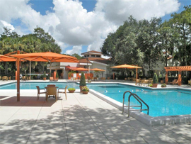 Pacifica Senior Living Forest Trace - Lauderhill, FL - Swimming Pool