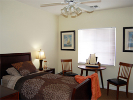 Pacifica Senior Living Fort Myers, FL - Bedroom Apartment