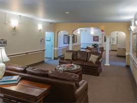 Pacifica Senior Living St. Andrews - Portland, OR - Lounge
