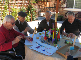 Palm Villas of Redwood City, CA - Paining Class