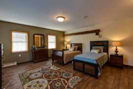 Pine Rock Manor - Warner, NH - Bedroom
