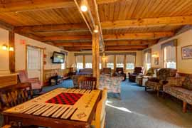 Pine Rock Manor - Warner, NH - Game Room