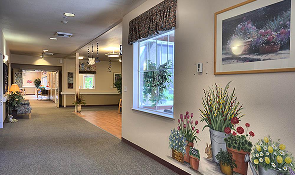 Pinole Senior Village - Pinole, CA - Lobby-Hallway