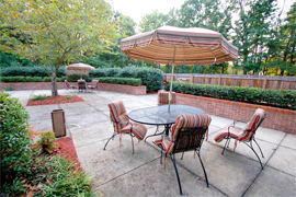 Plantation South Dunwoody, GA - Courtyard