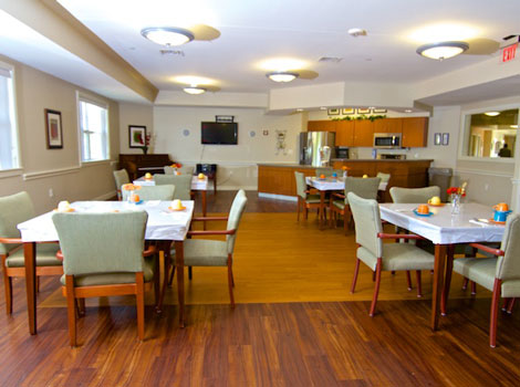Prairie Winds Alzheimer's Special Care Center -Oklahoma City, OK - Dining Area