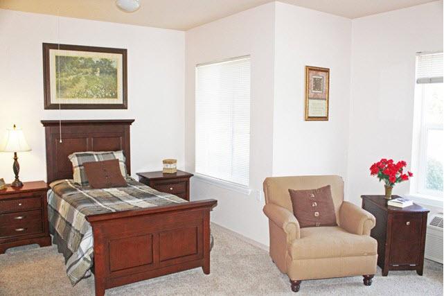 Prestige Assisted Living at Marysville, CA - Bedroom