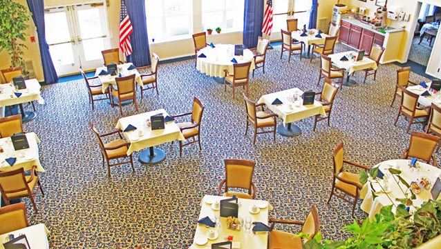 Prestige Assisted Living at Marysville, CA - Dining Room