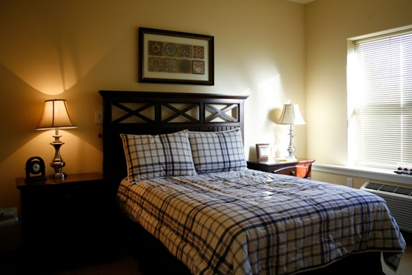 Prestige Senior Living Beaverton Hills, OR - Apartment Bedroom
