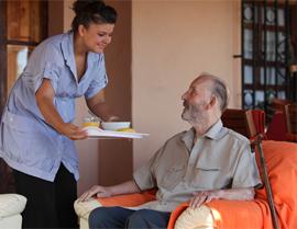 Ravenna Assisted Living - Albuquerque, NM - Caregiver and Resident