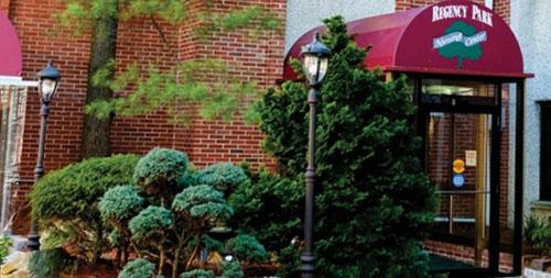 Regency Park Post- Acute Rehabilitation and Nursing - Hazlet, NJ - Entrance
