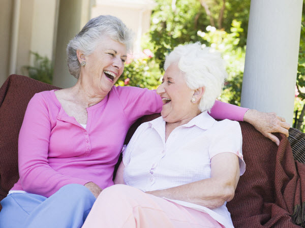 Rivermont Retirement Community - Norman, OK - Residents laughing
