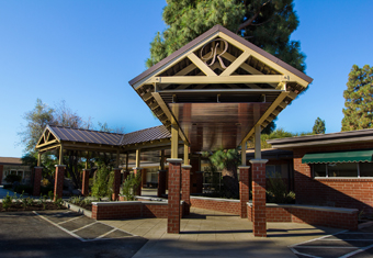 Rowntree Gardens - Stanton, CA - Entrance